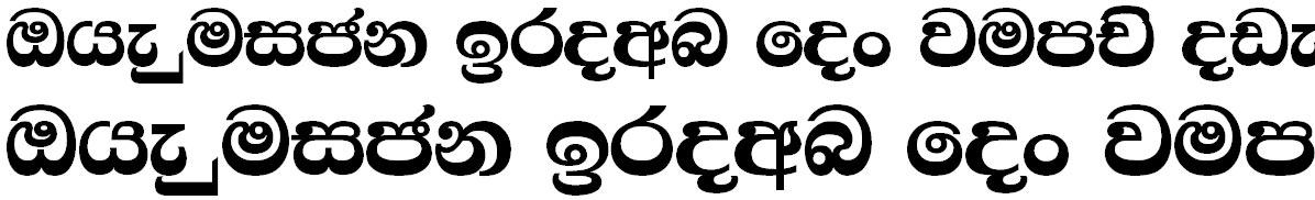 4u Amantha Sinhala Font