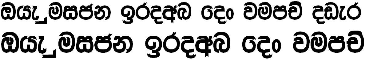4u Dilini Sinhala Font