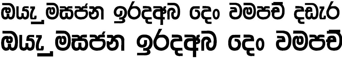 4u Nilakshi Sinhala Font