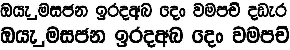 Aa Shantha Sinhala Font
