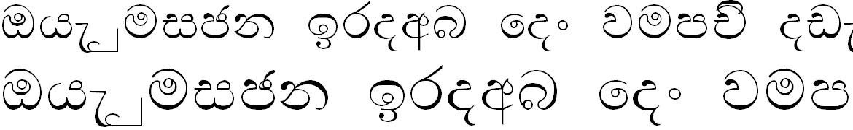 Bu Nisansala Sinhala Font
