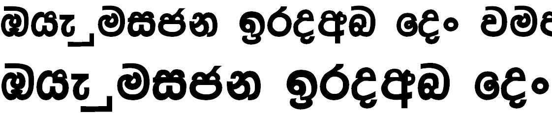 Mi Harsha Sinhala Font