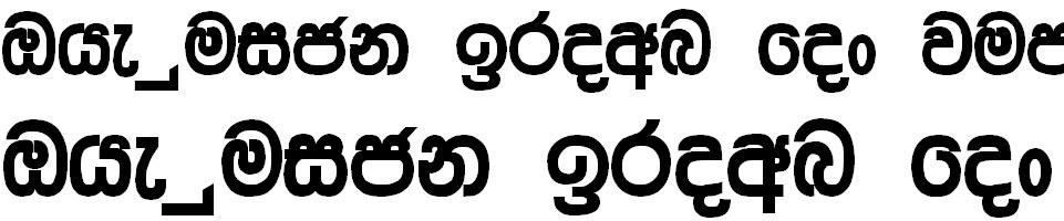 Ridi 13 Sinhala Font