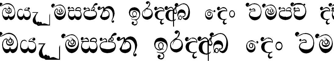Ridi 16 Sinhala Font