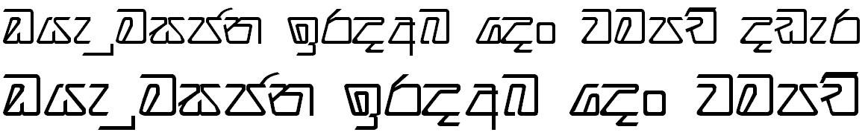 Sinhala Supipi Semi Bold Sinhala Font
