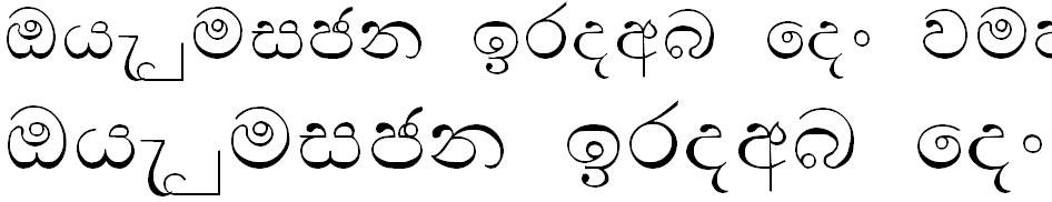 SMS Channa Sinhala Font